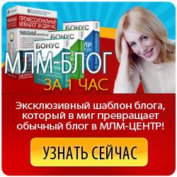 МЛМ-Блог за Один час